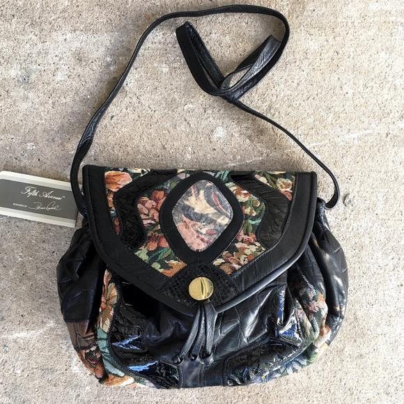 Saks Fifth Avenue Handbags - 5th Avenue | Vtg 80s Patchwork Purse